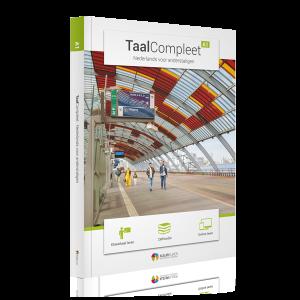 Omslag boek TaalCompleet A1