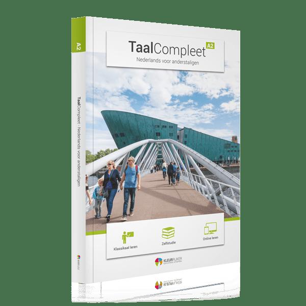 Omslag boek TaalCompleet A2